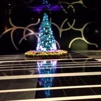 ルーセントタワーのクリスマスツリー