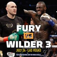 「フューリー対ワイルダーⅢ」(WBCヘビー級)