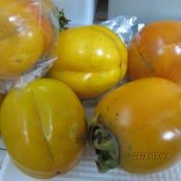 鳥取の名産「輝太郎柿」、「ベニズワイガニ」「渋抜きの柿・栗」で賑わう食卓