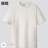 ユニクロのクルーネックTシャツ<全身ユニクロはカッコいい!?>