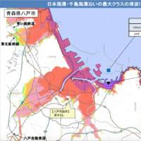 八戸市「津波26m」:八戸ジャンクションが災害救援道としてのネックに(第2ジャンクションと簡易代替案は提示されている)