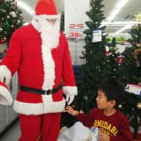 た~ぼちゃん トイザらス。。サンタさんにあってきたよ
