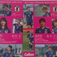 サッカー日本代表チームカード付きチップス2019年版