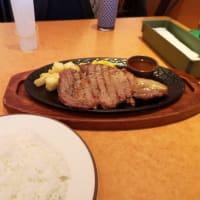 サイゼリヤのリブロースステーキを食らう @錦糸町