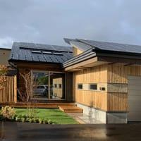 【北海道で太陽光発電14k キクザワモデル住宅】