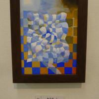 サムホール作品の展示(アート)