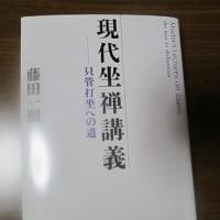 「現代座禅講義」藤田一照