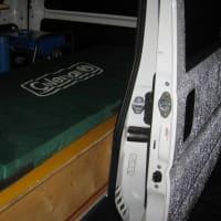 ピョンピョン二世号の車内ベッド