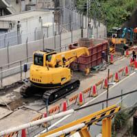百反歩道橋架替工事の進捗 その33