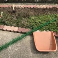 庭作り65春夏花壇②・・準備完了。