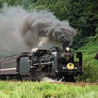 鉄道写真SLやまぐち号他