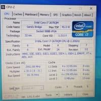 続・CPUを換装する。
