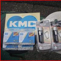 ★KMC電動自転車防錆対応チェーン・お買い得LEDライト入荷しています