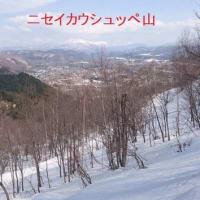 天幕山(スキー)&留辺志部山(つぼ足)&江差牛山(スノーシュー)・・・三種の神器3K