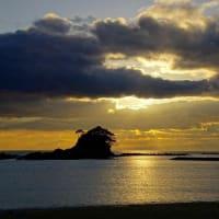 あづり浜の風景(志摩町越賀)