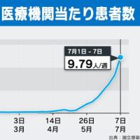 「手足口病」流行拡大・過去10年で最多 2019年07月16日