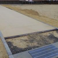 ジオベスト土舗装の施工上の注意