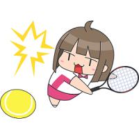 大坂選手おめでとう☆すべてのボールを全力で