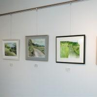 公民館絵画講座「菜の花」作品展