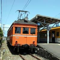 初めての一畑電鉄 川跡駅にてデハニ52と遭遇!