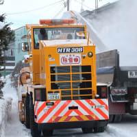 自治会の排雪作業