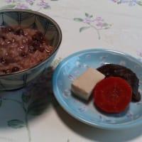 七草に小豆粥