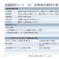 理詰めの営業 / 会議設計:仕切る会議 - ゴールを達成するために提示する情報