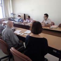 10月4日(月)、沖縄県議会で熊野鉱山での不法投棄が問題に! --- 具志堅さんたちと農地一時転用問題について県と面談