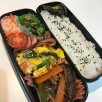 今日のお弁当、夜ご飯、東京五輪