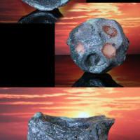 伊賀 刳貫岩ぐい呑