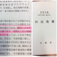「韓国による竹島の占拠は不法占拠」・・外交青書