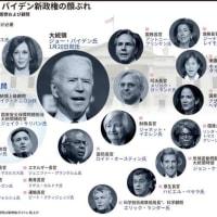 ジョー・バイデン新政権の顔ぶれ AFPBB News 2021/01/21 17:50