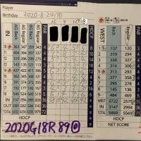 今日のゴルフ挑戦記(320)/東名厚木CC イン(B)→ウエスト
