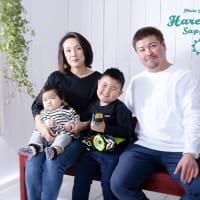 11/20 年賀状用撮影・家族写真データプラン 札幌写真館フォトスタジオハレノヒ
