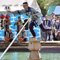 江戸の妙技「木場の角乗」、都内で披露