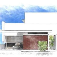 中庭やガレージ、庭のある暮らしと住まいの計画デザイン設計の事色々と・・・エクステリア(庭)計画は住まいの間取りと外観計画に連動させて考えることが大切。