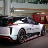 リーフの電動レーシングカー