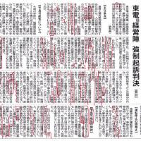 東電旧経営陣強制起訴東京地裁永渕健一裁判長判決R1.9.19に想う。2011年から日本は変わったと信じたいし、変えていかねばならない。少なくとも同じ判決文を繰り返すような社会であってはならない。