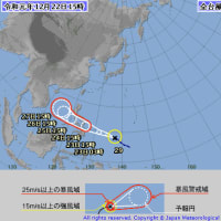 台風 カテゴリー
