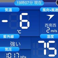 冷えてます