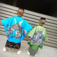 7歳男児&五歳男児☆羽織袴☆七五三おめでとう💛