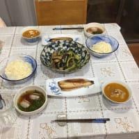 今日の一品 暑い夏の晩飯