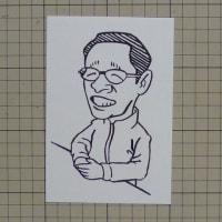 佐野稔(似顔絵)