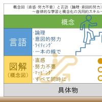 概念図(直感・努力不要)と言語(論理・意図的努力)による理解~自律的な学習と概念化の汎用的スキル~