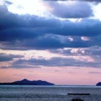 師走の海風景‥③