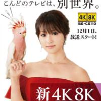 新4K8K衛星放送 番組表 今週のイチオシ!  NHK4K8K BSフジ BS TBS BS朝日 BSテレ東 BS日テレ 苦難の船出