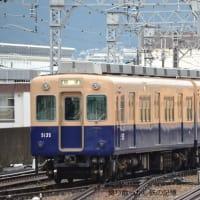 阪神 甲子園(2011.10.22) 青胴車 5135F 回送/普通 梅田行き