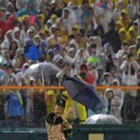傘、持ってたんだー(≧▽≦)