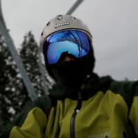 あわすのスキー場で新雪を滑る!