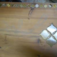 リメイクテーブルとクロダイの下絵